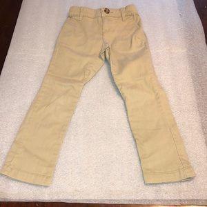 Girls Old Navy Stretch Uniform Khakis Size 5